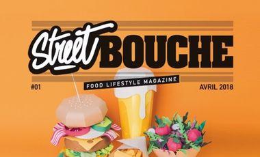 "Project visual Street Bouche Magazine ""Food Lifestyle"""