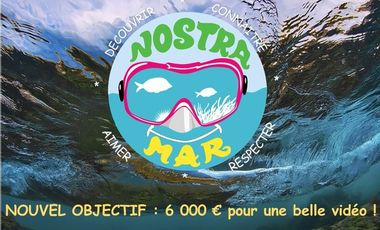 Project visual Nostra Mar : vivez la mer !