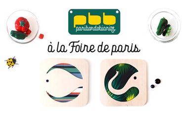 Project visual Paribordobiaritz à la Foire de Paris !