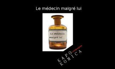 """Project visual """"Le médecin malgré lui"""" de Molière par kapo komica"""