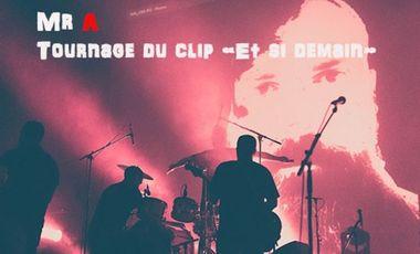 """Visueel van project Mr A : Tournage du clip """"Et si demain"""" Aidez nous à le financer !!!"""