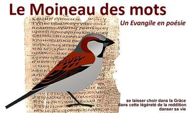 Project visual Le Moineau des mots : théologie et poésie