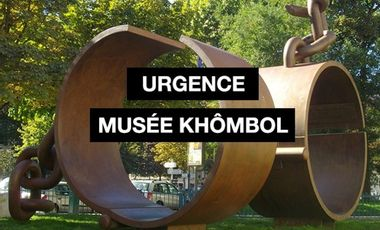Visueel van project Urgence Musée Khômbol