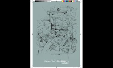 """Visueel van project Projet de Livre, Clément """"Kens"""" - Fragments (2008-2018)"""