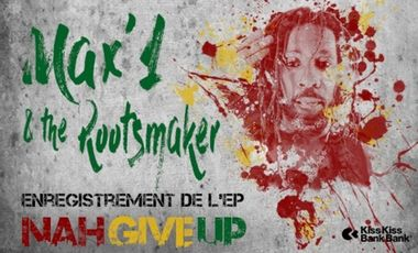 Visueel van project Max'1 & the Rootsmaker - Production du 1er EP