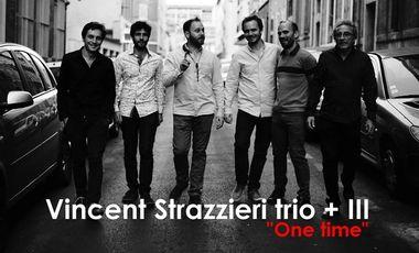 Visueel van project Financez l'album du Vincent Strazzieri trio + III