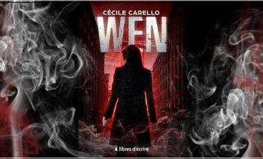 """Visueel van project Mon premier roman """"Wen"""""""