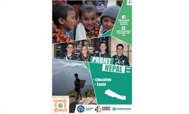 Visueel van project Projet de Solidarité Scout Népal / Août 2018