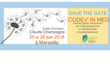 Visuel du projet CODEV'in MED 1er évènement de codéveloppement professionnel en Méditerranée