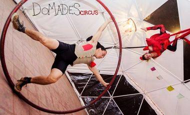 Project visual Domades: itinérance,cirque,social,auto-gestion,dôme
