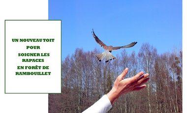 Visuel du projet Un nouveau toit pour soigner les rapaces à Rambouillet