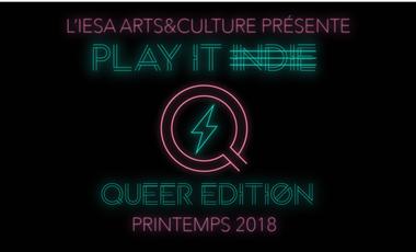 Visuel du projet Tremplin IESA - Play It Indie - Édition Queer