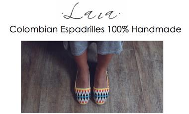 Visuel du projet Laia - Espadrilles artisanales colombiennes !