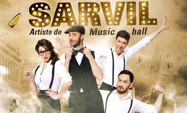 Visuel du projet L'incroyable destin de René SARVIL, artiste de Music-Hall