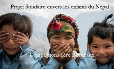 Project visual Projet Compagnon Solidaire envers les enfants du Népal
