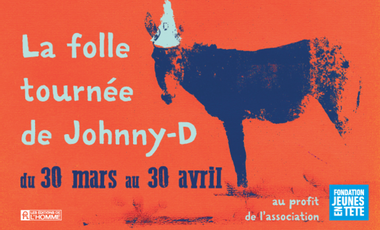 Visueel van project La ''Folle'' tournée de Johnny-D