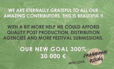 Visuel du projet Frangipani Rising