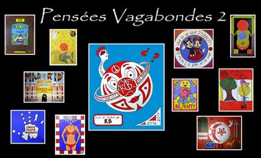 Project visual Nouveau livre et nouvelle expo de Pensées Vagabondes