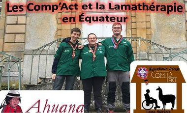 Visueel van project Les Comp'Act (07) en Équateur