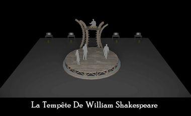 Visuel du projet Soutien à la Création de la Tempête de William Shakespeare