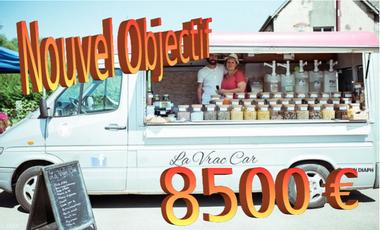 Visuel du projet La Vrac Car, épicerie itinérante de vrac bio et local