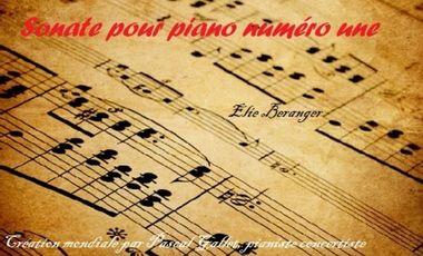 Visueel van project Création d'une sonate pour piano
