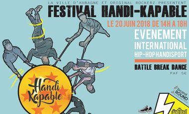 Visueel van project Aidez nous à créer le FESTIVAL HANDI-KAPABLE ( Championnat HandiSport de HIPHOP)