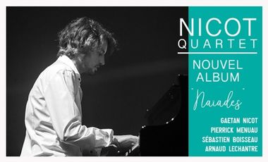Visuel du projet Gaetan Nicot Quartet