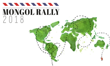 Visueel van project Mongol Rally 2018