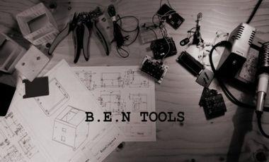 Visueel van project B.E.N Tools, Aidez à créer l'outil de demain!