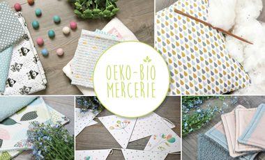 Visueel van project Oeko-Bio-Mercerie : Tissus biologiques et oeko-tex