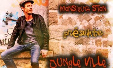Visuel du projet Jungle Ville, 1er Album de Monsieur STON