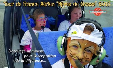Project visual Tous avec les Chevaliers du Ciel pour l'acceptation de la différence
