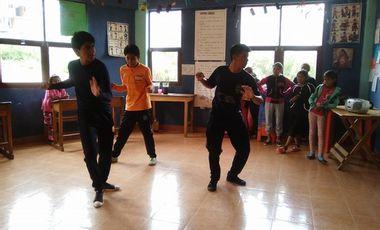 Project visual Dance classes for disadvantaged children