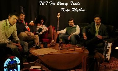 Visueel van project TBT The Bluesy Trade sort son premier album ! Keep Rhythm