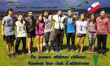 Project visual Des Jeunes Athlètes Chiliens fondent un Club d'athlétisme !
