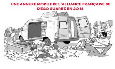 Visuel du projet Une annexe mobile de l'Alliance Française de Diego Suarez en 2018