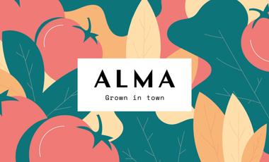 Visueel van project ALMA grown in town