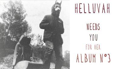 Visueel van project HELLUVAH - enregistrement du 3ème album