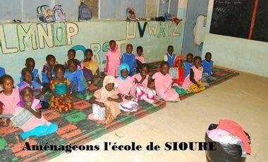 Visueel van project Aménagement de l'école maternelle de Siouré