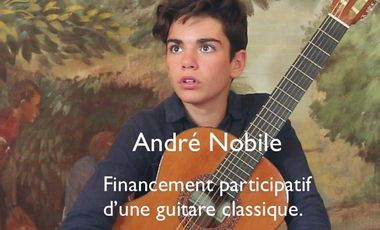 Visuel du projet Financement participatif d'une guitare classique