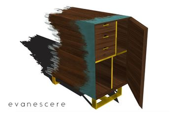 Project visual Evanescere / Mobilier