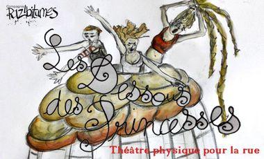 Project visual Les Dessous des Princesses