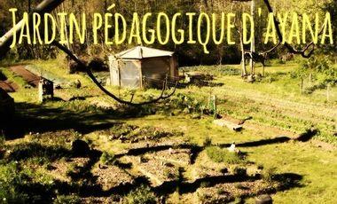 Project visual Le Jardin Pédagogique de La Ferme d'Ayana