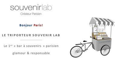 """Visueel van project Le 1er """"Bar à souvenirs"""" responsable et chic by Souvenir Lab"""