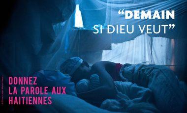 "Visueel van project ""Demain si Dieu veut"""