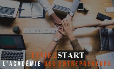 Visueel van project Time2start : l'académie des entrepreneurs