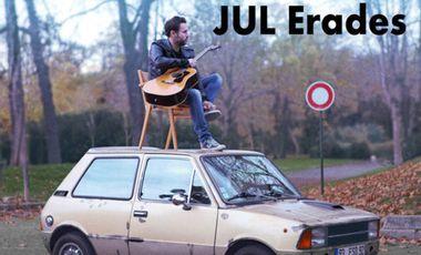 Visuel du projet JUL ERADES - Nouvel Album