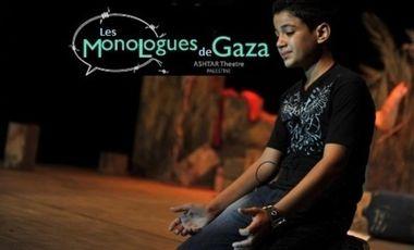 Visuel du projet Les Monologues de Gaza