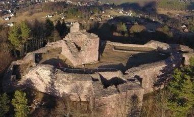 Project visual Revalorisation du Château du Hohnack